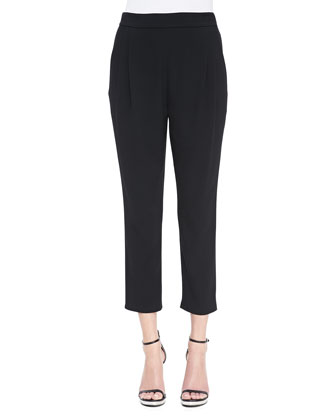 Cropped Track Pant Trousers