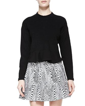 Snowe Insert Knit Pullover