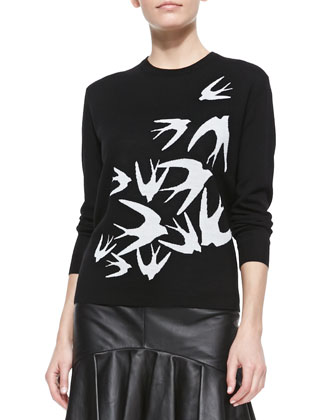 Starling-Design Crewneck Sweater