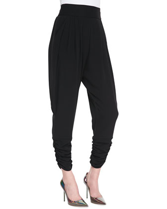 Gisella High-Waist Harem Pants