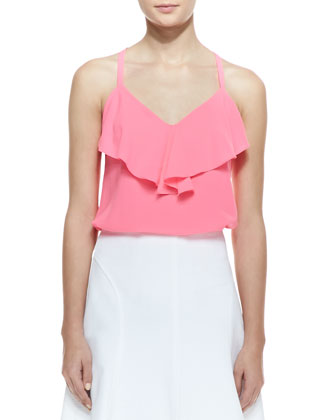 Mojito Flutter-Panel Halter Top