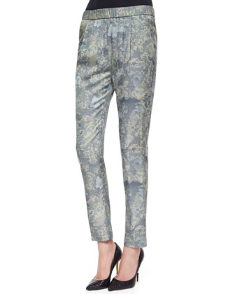 Starkey Camouflage-Print Pull-On Pants