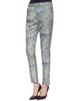 Starkey Camouflage-Print Pull-On Pants