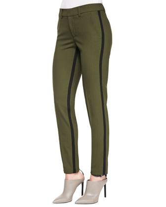 Strapping Trousers, Fir-Tree/Black