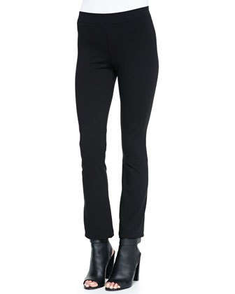 Cropped Flared-Ankle Leggings