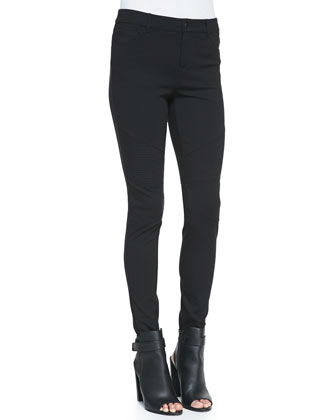 Moto Leggings, Black