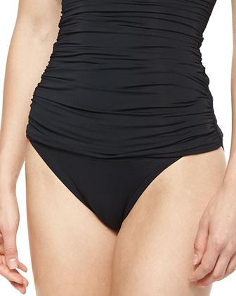 Banded Shirred Swim Bottom