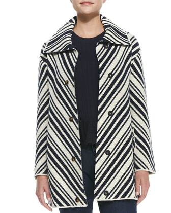 Tavia Chevron Winter Cotton Jacket