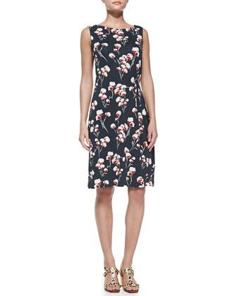 Liana Floral-Print Dress