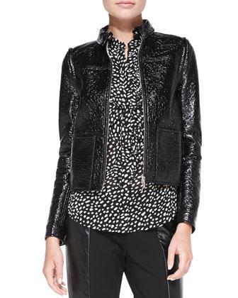 Fae Faux-Leather Jacket/Vest