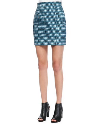 Printed Slim Skirt