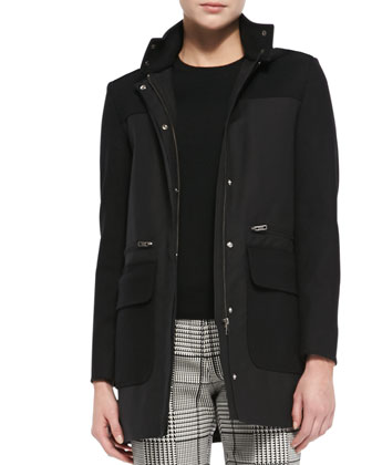 Alanso Cotton Makintosh Coat