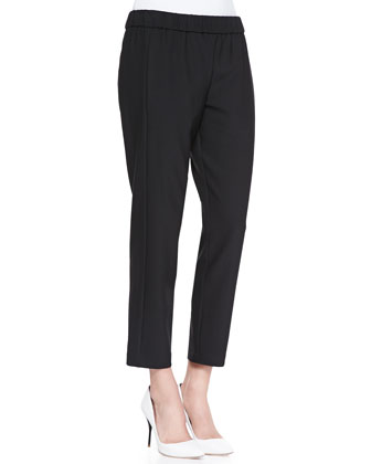 Korene Pull-On Cropped Pants