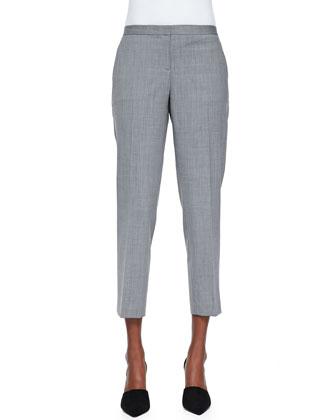Betoken Cropped Suit Pants