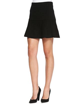 Gida Fit & Flare Knit Skirt
