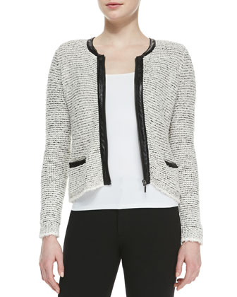 Jacolyn B Tweed Jacket