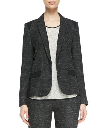 Howard Solid-Accent Blazer