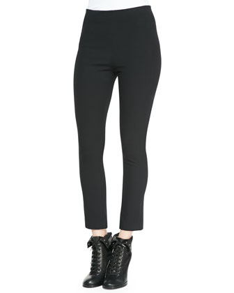 Simone Back-Zip Leggings