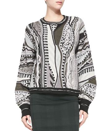 RB X Coogi Crewneck Pullover Sweater