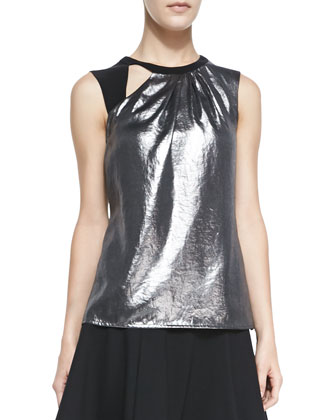 All Nighter Metallic Sleeveless Top
