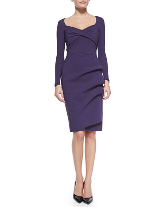 Fedra Long-Sleeve Dress