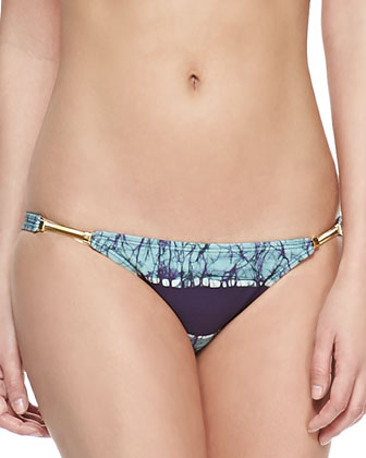 Inga Detail Striped Swim Bottom