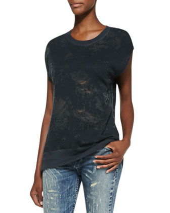 Nuala Burnout Muscle Tee