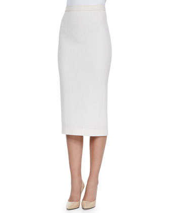 Jamie Knee-Length Pencil Skirt