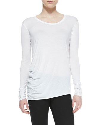 Kinetic Jersey Long-Sleeve Top