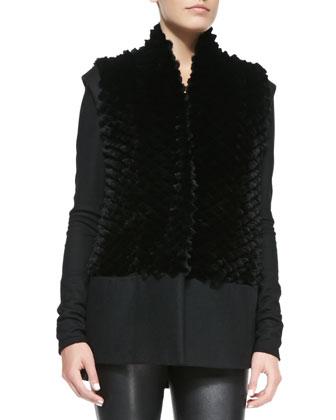 Pike Felt/Fur Vest
