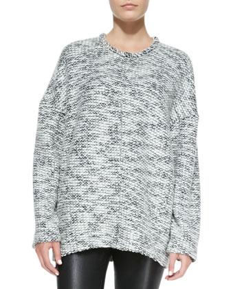 Source Chunky Knit Wool Sweater