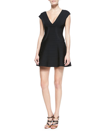 Noma Signature Essential Bandage Dress, Black