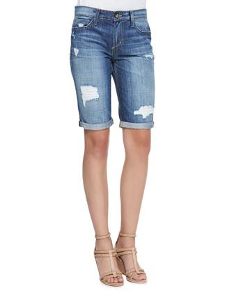 Easy Samara Denim Bermuda Shorts