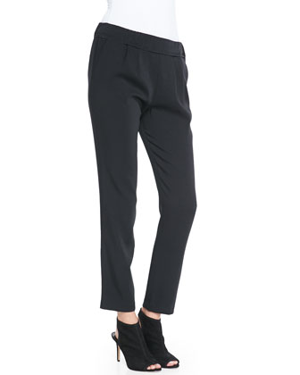 Irene Relaxed Satin Pants