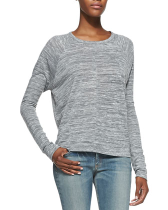 Nicole Jersey Long-Sleeve Tee
