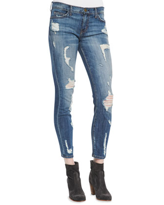 Stiletto Jodie Shredded Denim Jeans