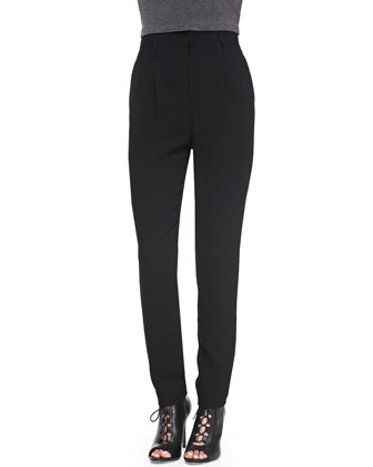High-Waist Kate Trousers