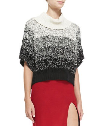 Florence Marbled Chunky Knit Sweater