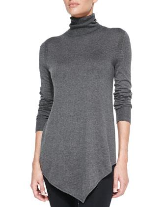 Nilsa Slub-Knit Turtleneck Sweater