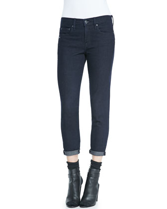 Mason Relaxed Rolled-Cuff Jeans