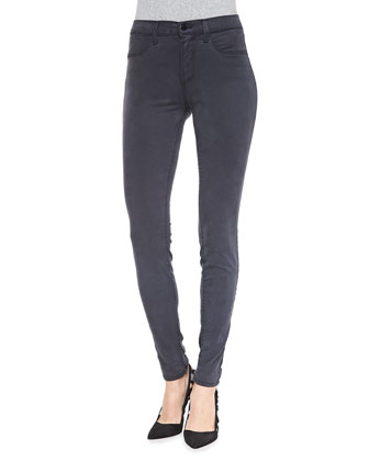 Maria High-Rise Sateen Jeans