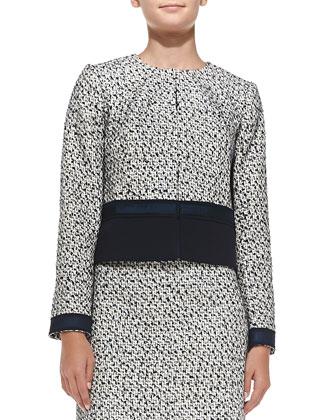 Lucille Silk-Blend Tweed Jacket