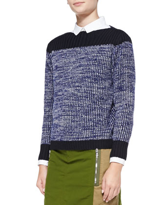 Julie Wool-Cashmere Sweater
