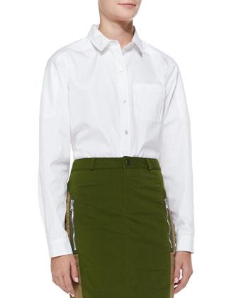 Miki Cotton Oxford Shirt