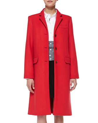 Hiro Long Felt Coat