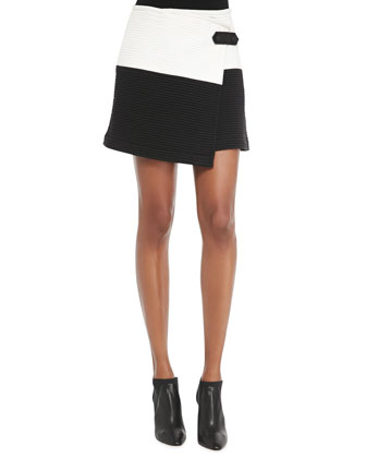 Lennon Crossover Asymmetric Skirt