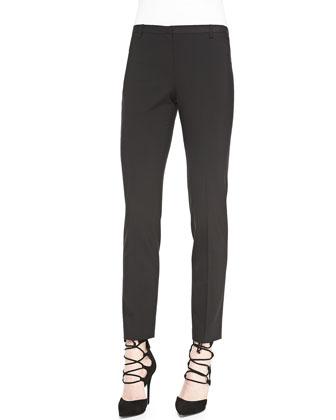 Bennet Cropped Slim-Leg Pants