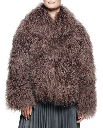 Richelle Mongolian Lamb Fur Jacket