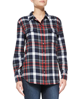 Signature Plaid Flannel Shirt