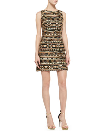 Wilcox Sleeveless A-Line Dress